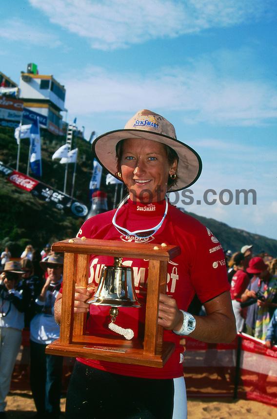 Layne Beachley (AUS) 1st Sun Smart Classic Bells Beach Victoria Australia 1999. Photo:  joliphotos.com