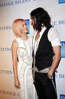 LOS ANGELES, CA - DEC 3: Katy Perry; Russell Brand at the 3rd Annual 'Change Begins Within' Benefit Celebration presented by The David Lynch Foundation held at LACMA on December 3, 2011 in Los Angeles, California