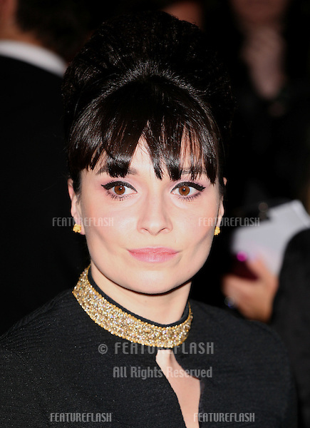 Gizzi Erskine arriving for the Elle Style Awards 2011, at the Connaught Rooms, London. 15/02/2011  Picture by: Alexandra Glen / Featureflash