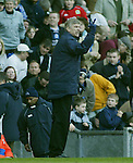 Arsenal manager Arsene Wenger - Blackburn Rovers v Arsenal - Premier League - Ewood Park Stadium - Blackburn - 15th March 2003 - Pics Simon Bellis