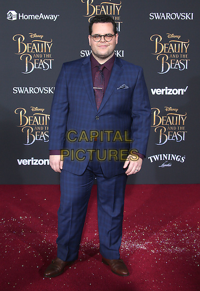 02 March 2017 - Hollywood, California - Josh Gad. Disney's &quot;Beauty and the Beast' World Premiere held at El Capitan Theatre.   <br /> CAP/ADM/FS<br /> &copy;FS/ADM/Capital Pictures
