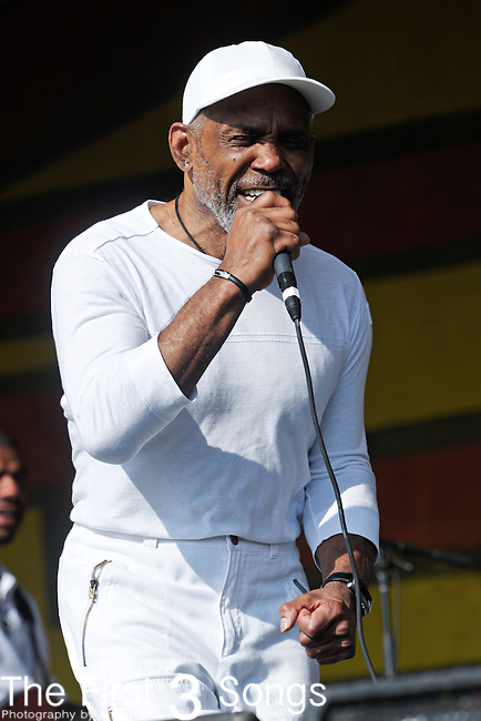 Maze featuring Frankie Beverly performs during the New Orleans Jazz & Heritage Festival in New Orleans, LA on May 8, 2011.