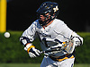 Timmy Ley #21 of Massapequa looks to gain control of a loose ball during the Nassau County varsity boys lacrosse Class A semifinals against Port Washington at Shuart Stadium, located on the campus Hofstra University in Hempstead, on Thursday, May 24, 2018. Massapequa scored six unanswered goals in the fourth quarter to win by a score of 11-3.