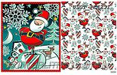 GIFT WRAPS, GESCHENKPAPIER, PAPEL DE REGALO, Christmas Santa, Snowman, Weihnachtsmänner, Schneemänner, Papá Noel, muñecos de nieve, paintings+++++,USGTPL4231,#gp#,#x# ,Lamont