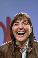 Roma, 29 Marzo, 2010. Festeggiamenti per la vittoria alle elezioni regionali della candidata del centro destra Renata Polverini