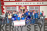 North Kerry Eagles Poker Run: North Kerry & West Limerick bikers pictured at Mairead Kearney's Bar, Moyvane on Monday evening last to announce the upcoming poker run which will take place on Saturday October 5th starting at 10.30 from the bar to raise funds for the North Kerry Eagles Special Olympic Club.
