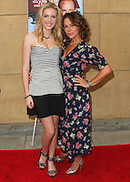 HOLLYWOOD, LOS ANGELES, CA, USA - MAY 22: Saxon Sharbino, Jennifer Grey at the Los Angeles Premiere Of 'Trust Me' held at the Egyptian Theatre on May 22, 2014 in Hollywood, Los Angeles, California, United States. (Photo by Xavier Collin/Celebrity Monitor)