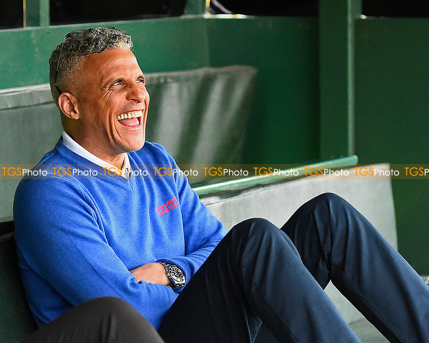 Carlisle United Manager Keith Curle during Yeovil Town vs Carlisle United, Sky Bet EFL League 2 Football at Huish Park on 1st April 2017