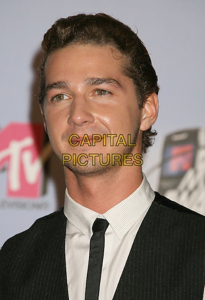SHIA LeBOUF.Press Room - 2007 MTV Movie Awards,  Gibson Amphitheater, Universal City, California, USA,.3rd June 2007..portrait headshot.CAP/ADM/RE.©Russ Elliot/AdMedia/Capital Pictures. *** Local Caption *** ...