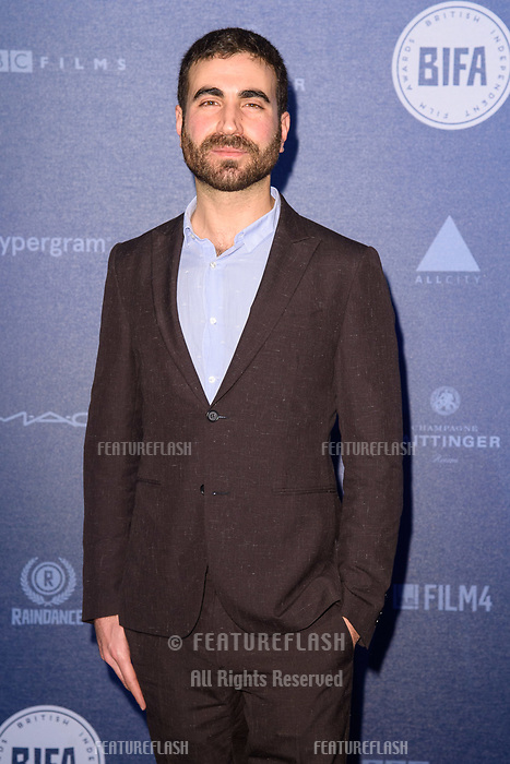 Brett Goldstein at the British Independent Film Awards 2017 at Old Billingsgate, London, UK. <br /> 10 December  2017<br /> Picture: Steve Vas/Featureflash/SilverHub 0208 004 5359 sales@silverhubmedia.com