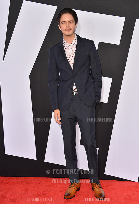 Miles Robbins at the premiere for &quot;Blockers&quot; at the Regency Village Theatre, Los Angeles, USA 03 April 2018<br /> Picture: Paul Smith/Featureflash/SilverHub 0208 004 5359 sales@silverhubmedia.com