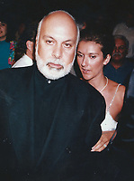 CelebrityArchaeology.com<br /> 1993 FILE PHOTO<br /> Celine Dion, Rene Angelil 1993<br /> Photo to By John Barrett-PHOTOlink.net / MediaPunch<br /> -----<br /> &mdash;&mdash;