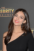 UNIVERSAL CITY, CA - JULY 16: Victoria Justice at The Celebrity Experience at the Hilton Universal in Universal City, California on July 16, 2017. Credit: David Edwards/MediaPunch