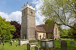 Village parish church of Saint Peter, Claydon, Suffolk, England, UK