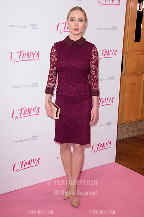 "Maria Sergejeva at the ""I, Tonya"" premiere at the Curzon Mayfair, London, UK. <br /> 15 February  2018<br /> Picture: Steve Vas/Featureflash/SilverHub 0208 004 5359 sales@silverhubmedia.com"