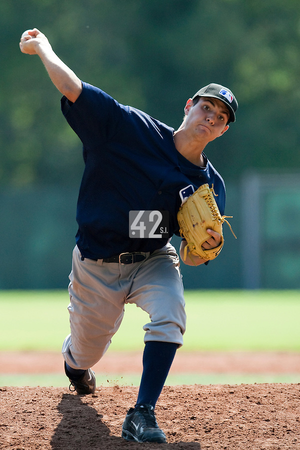 Baseball - MLB European Academy - Tirrenia (Italy) - 22/08/2009 - Joris Navarro (France)