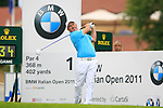 in action during Day 2 of the BMW Italian Open at Royal Park I Roveri, Turin, Italy, 10th June 2011 (Photo Eoin Clarke/Golffile 2011)