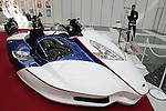 Mar 26, 2010 - Tokyo, Japan - An 'Octrun Sport Toure' side-car is on display during the 37th Tokyo Motorcycle Show at Tokyo Big Sight on March 26, 2010. The event is the Japan's largest motorcycle exhibition and it will be held until March 28 this year. (Photo Laurent Benchana/Nippon News)