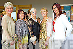 Pictured at the Ladies Lunch & Fashion afternoon on Sunday last held in Ballyroe Heights Hotel in aid of the  Recovery Haven Tralee were l-r: Olivia Wall, Margaret Brick, Orlagh Winters, Claire Murphy and Ann Drury Kahraman.