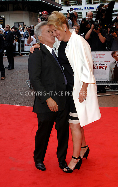 WWW.ACEPIXS.COM . . . . .  ..... . . . . US SALES ONLY . . . . .....June 3 2009, London....Emma Thompson (L) and Dustin Hoffman at the UK premiere of 'Last Chance Harvey' at the Odeon West End on June 3 2009 in London, England.....Please byline: FAMOUS-ACE PICTURES... . . . .  ....Ace Pictures, Inc:  ..tel: (212) 243 8787 or (646) 769 0430..e-mail: info@acepixs.com..web: http://www.acepixs.com