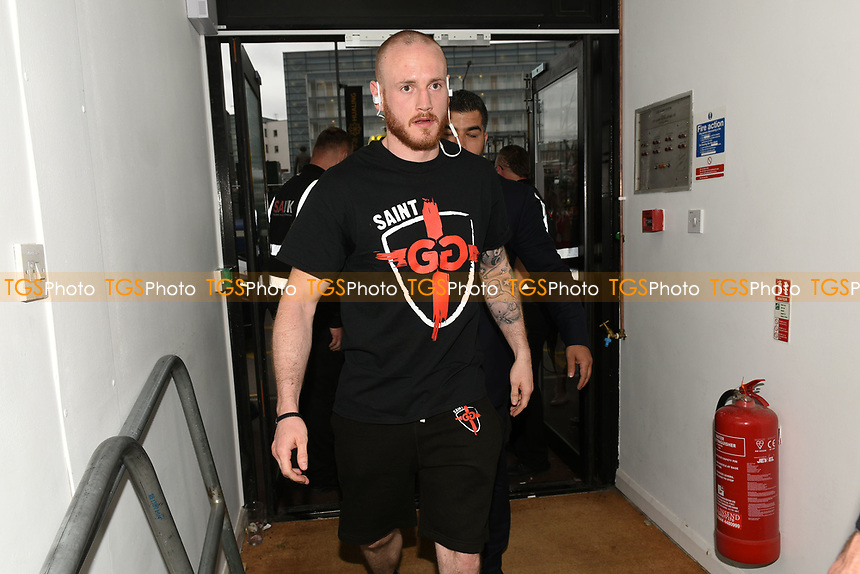 George Groves arrives ahead of a Boxing Show at Bramall Lane on 27th May 2017