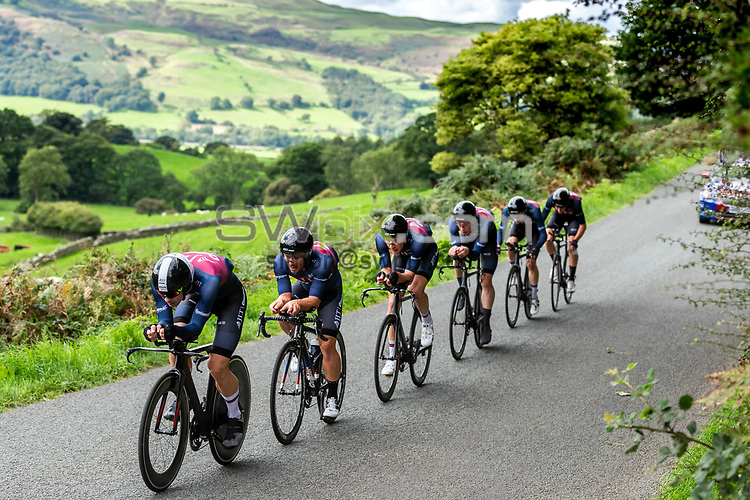 Picture by Alex Whitehead/SWpix.com - 06/09/2018 - Cycling - OVO Energy Tour of Britain - Stage 5 Team Time Trial: Cockermouth to Whinlatter Pass - JLT Condor in action during the Team Time Trial.