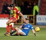 Ryan Edwards tackles Ryan Jack
