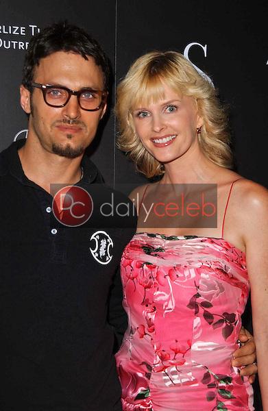 Spiros Poros and Kylie Bax<br />at the Grand Opening of Social Hollywood. Social Hollywood, Hollywood, CA. 06-27-06<br />Dave Edwards/DailyCeleb.com 818-249-4998