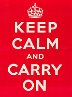 Original WWII 'Keep Calm and Carry On' poster has sold for £7,500.