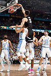 GLENDALE, AZ - APRIL 03:  Zach Collins #32 of the Gonzaga Bulldogs dunks during the 2017 NCAA Men's Final Four National Championship game against the North Carolina Tar Heels at University of Phoenix Stadium on April 3, 2017 in Glendale, Arizona.  (Photo by Jamie Schwaberow/NCAA Photos via Getty Images)