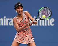 FLUSHING, NY- SEPTEMBER 01: ***NO NY DAILIES***  Venus Williams Vs Maria Sakkari during the 2017 US Open at the USTA Billie Jean King National Tennis Center on September 1, 2017 in Flushing Queens. Credit: mpi04/MediaPunch