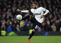 Jayden Bogle of Derby County in action during Chelsea vs Derby County, Caraboa Cup Football at Stamford Bridge on 31st October 2018