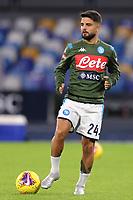 Lorenzo Insigne of Napoli during the warm up<br /> Napoli 09-11-2019 Stadio San Paolo <br /> Football Serie A 2019/2020 <br /> SSC Napoli - Genoa CFC<br /> Photo Cesare Purini / Insidefoto