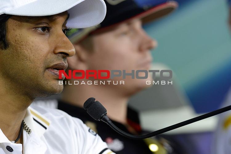 25.-28.10.2012, Jaypee-Circuit, Noida, IND, F1, Grosser Preis von Indien, Noida, im Bild Narain Karthikeyan (IND), HRT Formula one Team <br />  Foto &copy; nph / Mathis