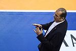 06.05.2018, Max Schmeling Halle, Berlin<br />Volleyball, Bundesliga MŠnner / Maenner, Play-offs, Finale 4. Spiel, Berlin Recycling Volleys vs. VfB Friedrichshafen<br /><br />Stelian Moculescu (Trainer / Coach Berlin)<br /><br />  Foto &copy; nordphoto / Kurth