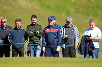 Richard McEvoy (ENG) on the 4th green during Round 4 of the Betfred British Masters 2019 at Hillside Golf Club, Southport, Lancashire, England. 12/05/19<br /> <br /> Picture: Thos Caffrey / Golffile<br /> <br /> All photos usage must carry mandatory copyright credit (© Golffile | Thos Caffrey)