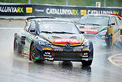 14th April 2018, Circuit de Barcelona-Catalunya, Barcelona, Spain; FIA World Rallycross Championship; Jean Baptiste Dubourg of the G Fors Team in action during the very wet Q2