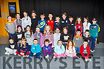 Children from Currow at their last rehearsal before their Musical they are presenting in Killarney Racecourse next Sunday