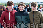 Gary Dillon (Kilflynn) with Michael Shanahan and  Joe O'Connell (Lixnaw), pictured at Listowel races on Sunday last.