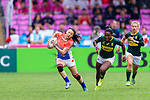 HSBC Hong Kong Rugby Sevens 2018 China vs South Africa on 06 April 2018, in Hong Kong. Photo by Marcio Rodrigo Machado / Power Sport Images