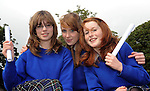 15-09-09: 11 As EACH FOR CLASSMATES: Three classmates at Presentation Secondary School Milltown, Co. Kerry all received eleven A's each in their Junior Cert Results on Wednesday. Drom left are Amy Fisher, Castlemaine, Mairead Rafferty, Killorglin and Vicky Moynihan, Faha, Killarney.  Picture: Eamonn Keogh (MacMonagle, Killarney)