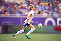 Orlando, FL - Sunday July 10, 2016: Kassey Kallman during a regular season National Women's Soccer League (NWSL) match between the Orlando Pride and the Boston Breakers at Camping World Stadium.
