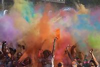 The Color Run 2015, Tacoma, Washington State, WA, America, USA.
