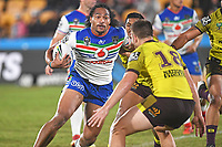 Bunty Afoa.<br /> NRL Premiership Rugby League. Vodafone Warriors v Brisbane Broncos. Mt Smart Stadium. 14th April 2018. Copyright Photo: Jeremy Ward / www.photosport.nz /SWpix.com