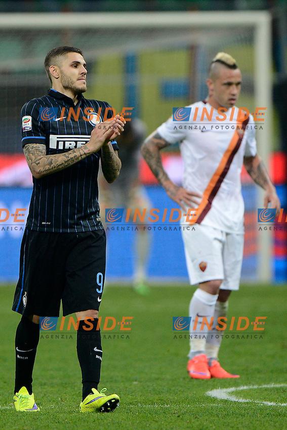 Mauro Icardi Inter<br /> Milano 25-04-2015 Stadio Giuseppe Meazza - Football Calcio Serie A Inter - Roma. Foto Giuseppe Celeste / Insidefoto