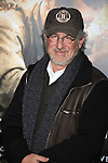 """LOS ANGELES, CA. - February 24: Executive Producer Steven Spielberg arrives to HBO's premiere of """"The Pacific"""" at Grauman's Chinese Theatre on February 24, 2010 in Los Angeles, California."""