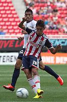 GUADALAJARA,JAL. AUGUST 4,2013.  Giovanny Casillas of Chivas during the game of Liga MX between Chivas against Atlante at Omnilife Stadium. // Giovanny Casillas de Chivas durante el juego  de La Liga MX entre Chivas vs Atlante en el Estadio Omnilife. <br /> PHOTOS: NORTEPHOTO/GERMAN QUINTANA**CR&Eacute;DITO OBLIGATORIO** **USO EDITORIAL** **NO VENTAS** **NO ARCHIVO**