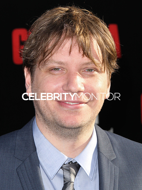"""HOLLYWOOD, LOS ANGELES, CA, USA - MAY 08: Gareth Edwards at the Los Angeles Premiere Of Warner Bros. Pictures And Legendary Pictures' """"Godzilla"""" held at Dolby Theatre on May 8, 2014 in Hollywood, Los Angeles, California, United States. (Photo by Xavier Collin/Celebrity Monitor)"""