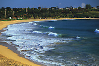 Kealia Beach is located just outside of Kapa'a in east Kaua'i.