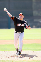 Mike MacDonald, San Francisco Giants 2010 minor league spring training..Photo by:  Bill Mitchell/Four Seam Images.